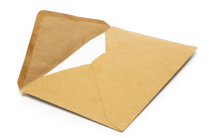 Brown Vintage Envelope