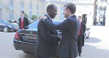 INTERNATIONALES : Reçu à l'Elysée, Alassane Ouattara plaide pour une zone FCFA étendue à la CEDEAO