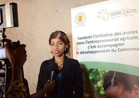 ECONOMIE : Dr Diana MFONDOUM, lauréate Cameroun du PRIX Pierre CASTEL 2019